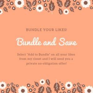 I love bundles! Bundle and Save!